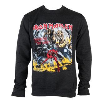 pulóver (kapucni nélkül) férfi Iron Maiden - NOTB Puff Print - ROCK OFF, ROCK OFF, Iron Maiden