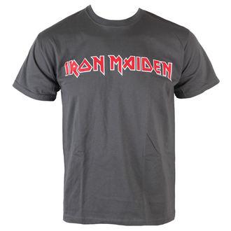 metál póló férfi Iron Maiden - Classic Logo - ROCK OFF