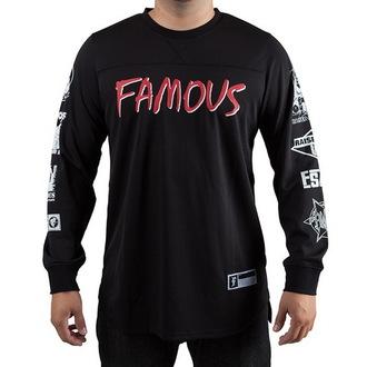 utcai póló férfi - Raised On Rap - FAMOUS STARS & STRAPS, FAMOUS STARS & STRAPS