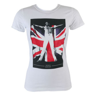 metál póló női Queen - Flag - BRAVADO, BRAVADO, Queen