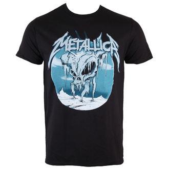 metál póló férfi Metallica - Ice Black - BRAVADO, BRAVADO, Metallica