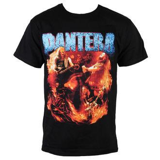metál póló férfi Pantera - Flames Vintage - BRAVADO - 31511257