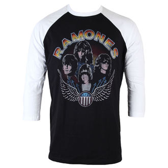metál póló férfi Ramones - Vintage Wings - BRAVADO 399eff8f82