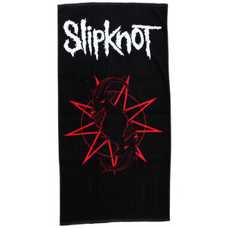 Slipknot törülköző - Distressed Logo - BRAVADO, BRAVADO, Slipknot