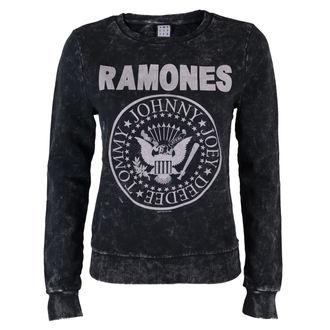 pulóver (kapucni nélkül) női Ramones - Macrame Sweat - AMPLIFIED, AMPLIFIED, Ramones