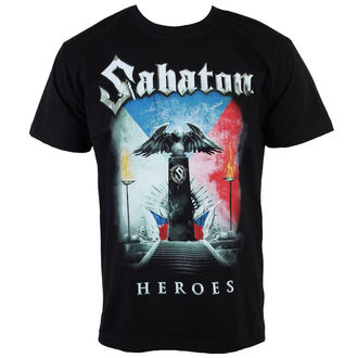 metál póló férfi Sabaton - Heroes Czech Republic - CARTON, CARTON, Sabaton