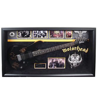 gitár  aláírással Motörhead - ANTIQUITIES CALIFORNIA - Black, ANTIQUITIES CALIFORNIA, Motörhead