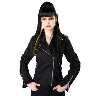 tavaszi/őszi dzseki női - Biker - BLACK PISTOL, BLACK PISTOL