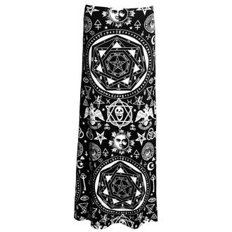 KILLSTAR női szoknya - Okkult Maxi - Black, KILLSTAR