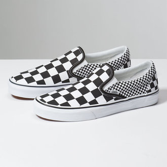 rövidszárú cipő unisex - UA CLASSIC SLIP-ON (MIX CHECKER) - VANS, VANS