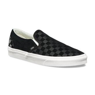 rövidszárú cipő unisex - UA CLASSIC SLIP-ON (CHECKER EM) - VANS, VANS