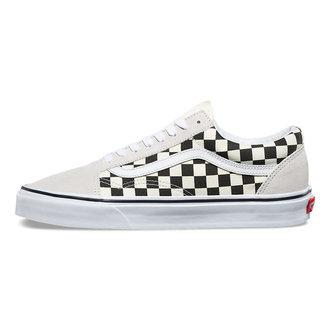 rövidszárú cipő unisex - UA OLD SKOOL (Checkerboar) - VANS, VANS