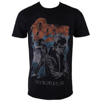 metál póló férfi David Bowie - 1972 World Tour - ROCK OFF, ROCK OFF, David Bowie