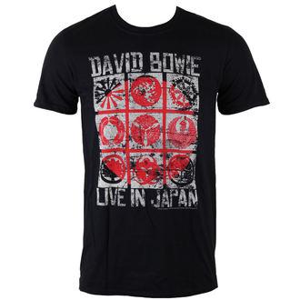 metál póló férfi David Bowie - Live In Japan - ROCK OFF, ROCK OFF, David Bowie