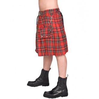 skót szoknya férfi BLACK PISTOL - Eye Kilt Tartán - (Black), BLACK PISTOL