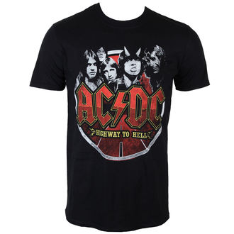 metál póló férfi AC-DC - Band Circle - PLASTIC HEAD, PLASTIC HEAD, AC-DC