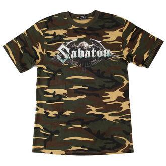 Sabaton férfi póló - Bennlakó Camouflage - NUCLEAR BLAST - 2292 - SÉRÜLT, NUCLEAR BLAST, Sabaton