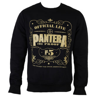 pulóver (kapucni nélkül) férfi Pantera - 101 Proof - ROCK OFF, ROCK OFF, Pantera