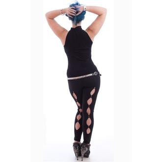 NECESSARY EVIL női trikó- Shala keyhole - Black, NECESSARY EVIL