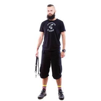 NECESSARY EVIL férfi rövidnadrág - Mider - Black, NECESSARY EVIL
