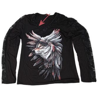 hosszú ujjú női póló SPIRAL - Spirit Of The Wolf - SÉRÜLT, SPIRAL