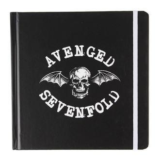 Avenged Sevenfold jegyzetfüzet - Classic Deathbat - ROCK OFF, ROCK OFF, Avenged Sevenfold