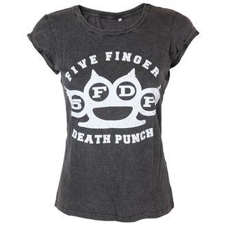 metál póló női Five Finger Death Punch - Knuckleduster - ROCK OFF, ROCK OFF, Five Finger Death Punch