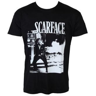 filmes póló férfi Scarface - Wanna Play Rough - HYBRIS - UV-1-SF004-H39-10-BK