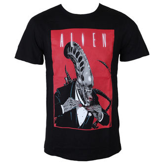 Alien férfi póló - Smoking Comics Cover - Black - LEGEND, LEGEND, Alien - Vetřelec