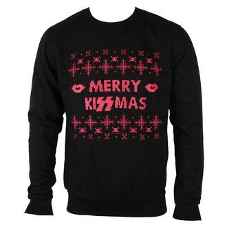 pulóver (kapucni nélkül) férfi Kiss - Merry Kissmas - PLASTIC HEAD