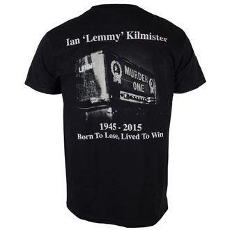 metál póló férfi Motörhead - Lemmy Lived To Win - ROCK OFF, ROCK OFF, Motörhead