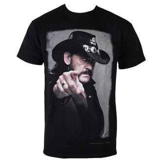 metál póló férfi Motörhead - Lemmy Pointing Photo - ROCK OFF, ROCK OFF, Motörhead