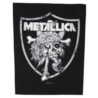 Metallica nagy felvarró - Raiders Skull - RAZAMATAZ, RAZAMATAZ, Metallica