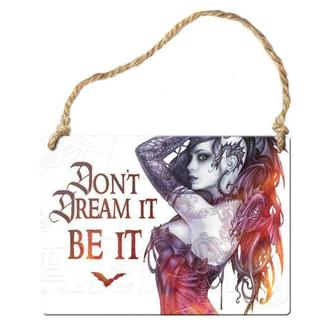 ALCHEMY GOTHIC fém kártya - Don´t Dream It Be It, ALCHEMY GOTHIC