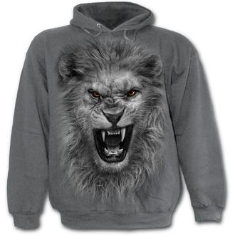 kapucnis pulóver gyermek - Tribal Lion - SPIRAL, SPIRAL