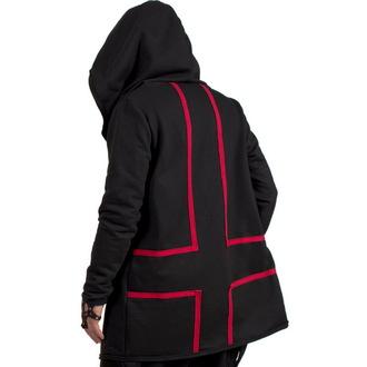 kapucnis pulóver női unisex - Cross - AMENOMEN, AMENOMEN