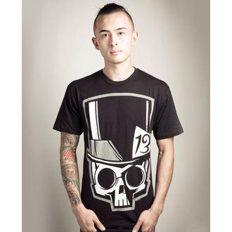 póló férfi Akumu Ink - Skull13 - Grey- SÉRÜLT