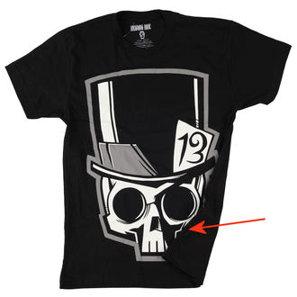 póló férfi Akumu Ink - Skull13 - Grey- SÉRÜLT, Akumu Ink