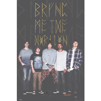 Bring Me The Horizon poszter - Group Black, GB posters, Bring Me The Horizon