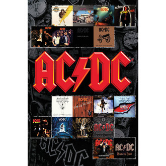 AC/DC poszter - Covers - GB posters, GB posters, AC-DC