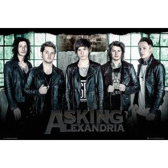Asking Alexandria poszter - Window - GB posters, GB posters, Asking Alexandria