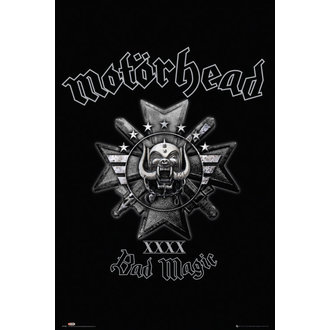 Motöread poszter - Bad Magic - GB posters, GB posters, Motörhead
