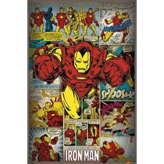 Marvel Comics poszter - Iron Man Retro - PYRAMIS POSTERS, PYRAMID POSTERS