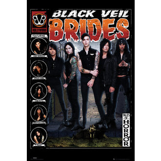 Black Veil Brides poszter - Tales of Horror - GB posters, GB posters, Black Veil Brides