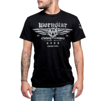 hardcore póló férfi - Machine Shop - WORNSTAR - WSUS-MACS