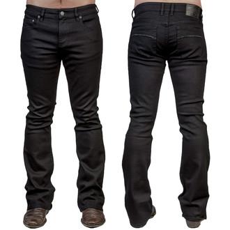 WORNSTAR férfi nadrág (jeans) WORNSTAR - Hellraiser - Black, WORNSTAR