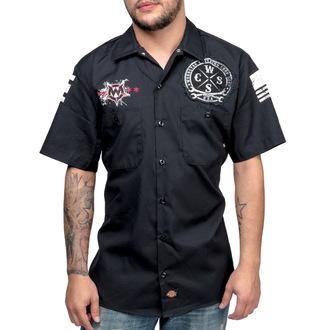 WORNSTAR férfi ing - Death Mechanic - Black, WORNSTAR