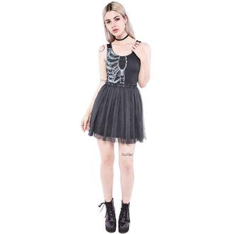 IRON FIST női ruha - Wishbone - Black - IFW004289