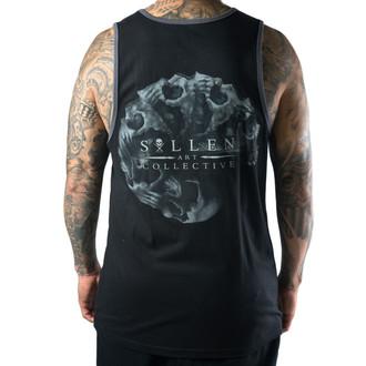 SULLEN férfi trikó - Morph Skull - Black / Charcoal, SULLEN
