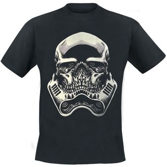 POIZEN INDUSTRIES férfi póló - Skull Trooper - Black, HEARTLESS